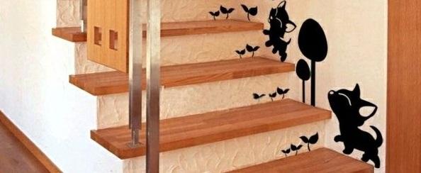autocollant-mur-escalier