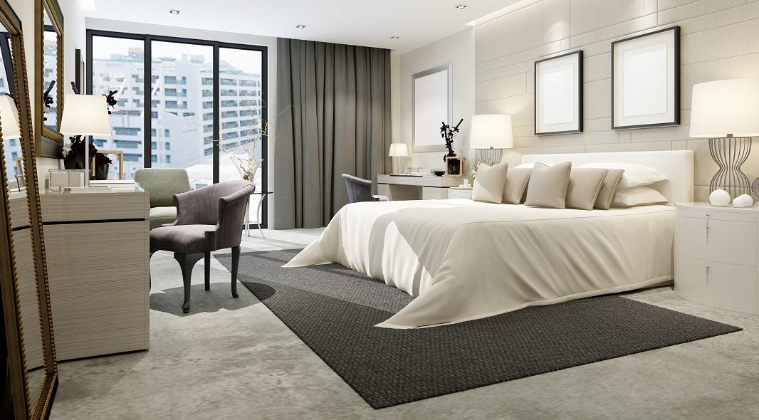 comment mettre un tapis dans une chambre